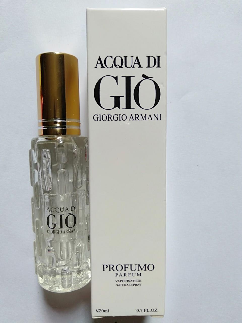 Nước hoa nam mẫu thử 20ml Acqua di Giò