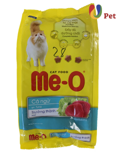 Thức Ăn Cho Mèo Me-O Tuna Adult Dạng Hạt Cho Mèo Trưởng Thành Vị Cá Ngừ 350g gói thumbnail