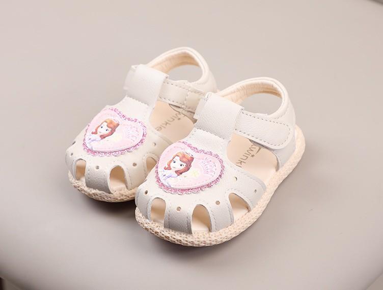 sandal bé gái size 15-19 esla dễ thương