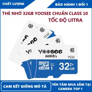 Thẻ nhớ microSDHC Yoosee Extreme Plus 32GB UHS-I U3 4K R90MB s W40MB s (Trắng xanh) - chuyên camera và điện thoại thumbnail