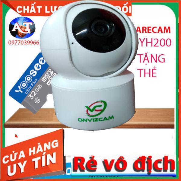 [TẶNG THẺ 64GB 32GB]Camera Ip Wifi CareCam YH200 CC2020 Full HD 1080P onviz cam v5 - Đàm Thoại 2 Chiều - Báo Động Cự Nhạy