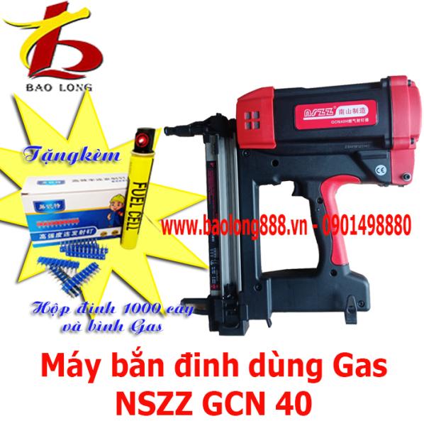 Máy bắn đinh bê tông bê tông ( súng bắn đinh ) dùng Gas NSZZ GCN40