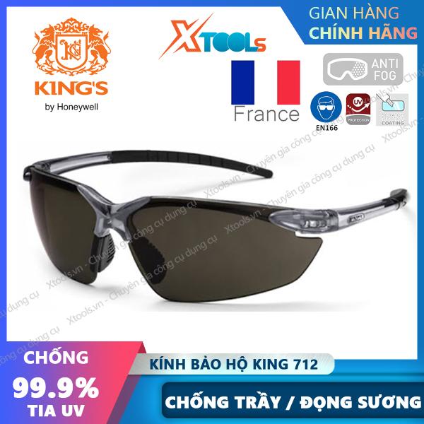 Giá bán Kính bảo hộ Kings KY712 Kính chống bụi, tia UV, chống trầy xước, đọng sương, bảo vệ mắt, đi xe máy, lao động [XTOOLs][XSAFE]