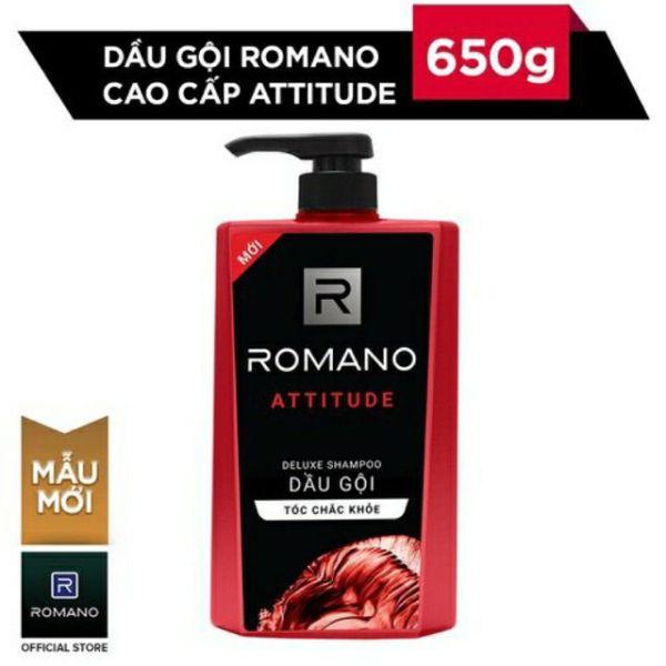 Dầu gội hương nước hoa Romano Attitude 650gr giá rẻ