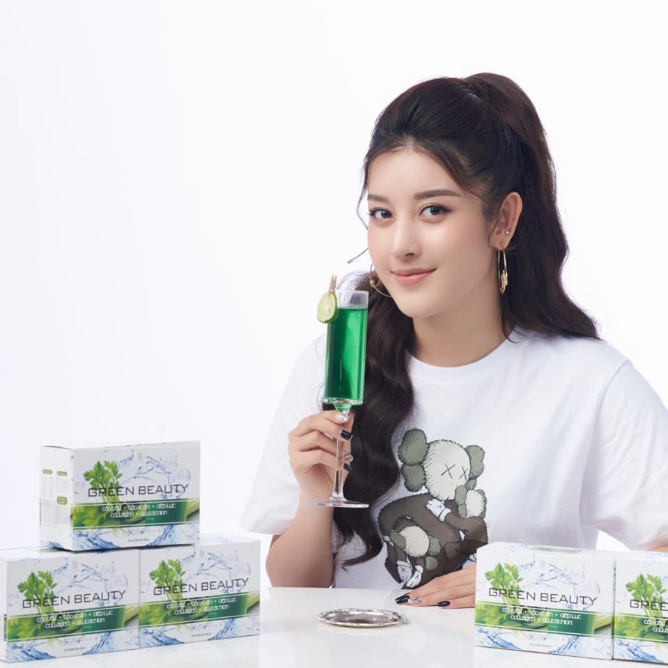 Combo 2 hộp nước ép cần tây Green Beauty, giữ dáng, giảm cân, đẹp da, tăng cường nội tiết tố nữ cao cấp