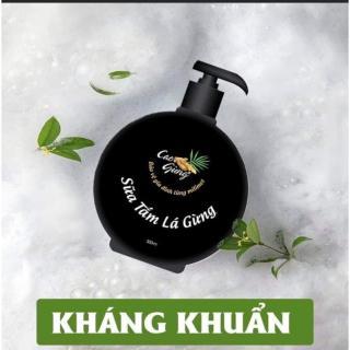 Sữa Tắm Lá Gừng Kháng Khuẩn - Tránh Gió - Giải Cảm - Thiên Nhiên Việt 300ml thumbnail