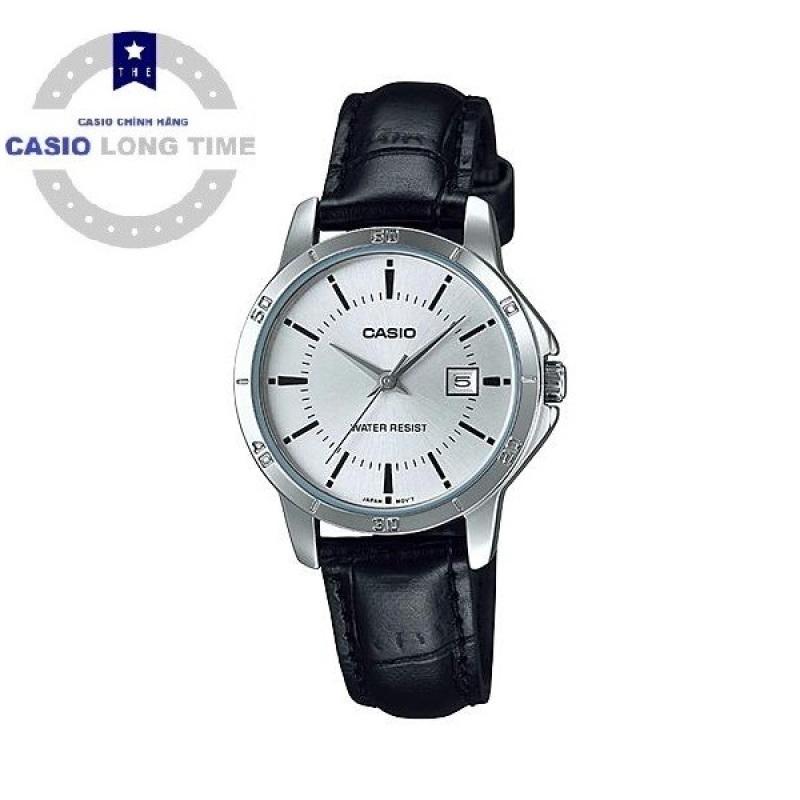 Đồng hồ nữ dây da Casio Anh Khuê LTP-V004L-7AUDF