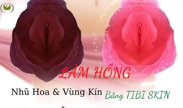 Kem Làm Hồng Nhũ Hoa và Vùng Kín và Môi Tibiskin 10gr, Có Tặng Kèm Quà Trắng Da Body Lux giá rẻ