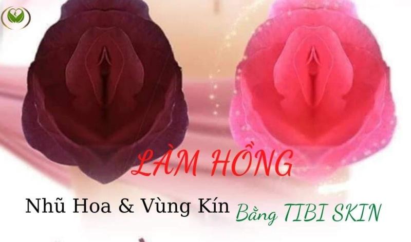 Kem Làm Hồng Nhũ Hoa và Vùng Kín và Môi Tibiskin 10gr, Có Tặng Kèm Quà Trắng Da Body Lux cao cấp