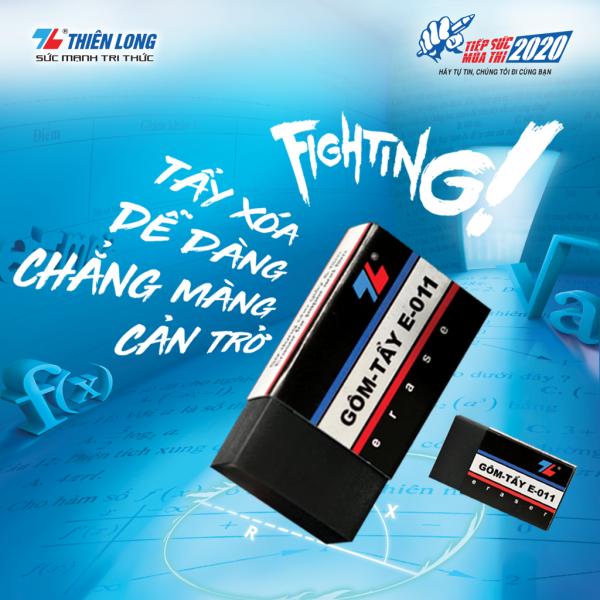 Gôm tẩy xóa chì Thiên Long E-011-Bút máy Sài Gòn