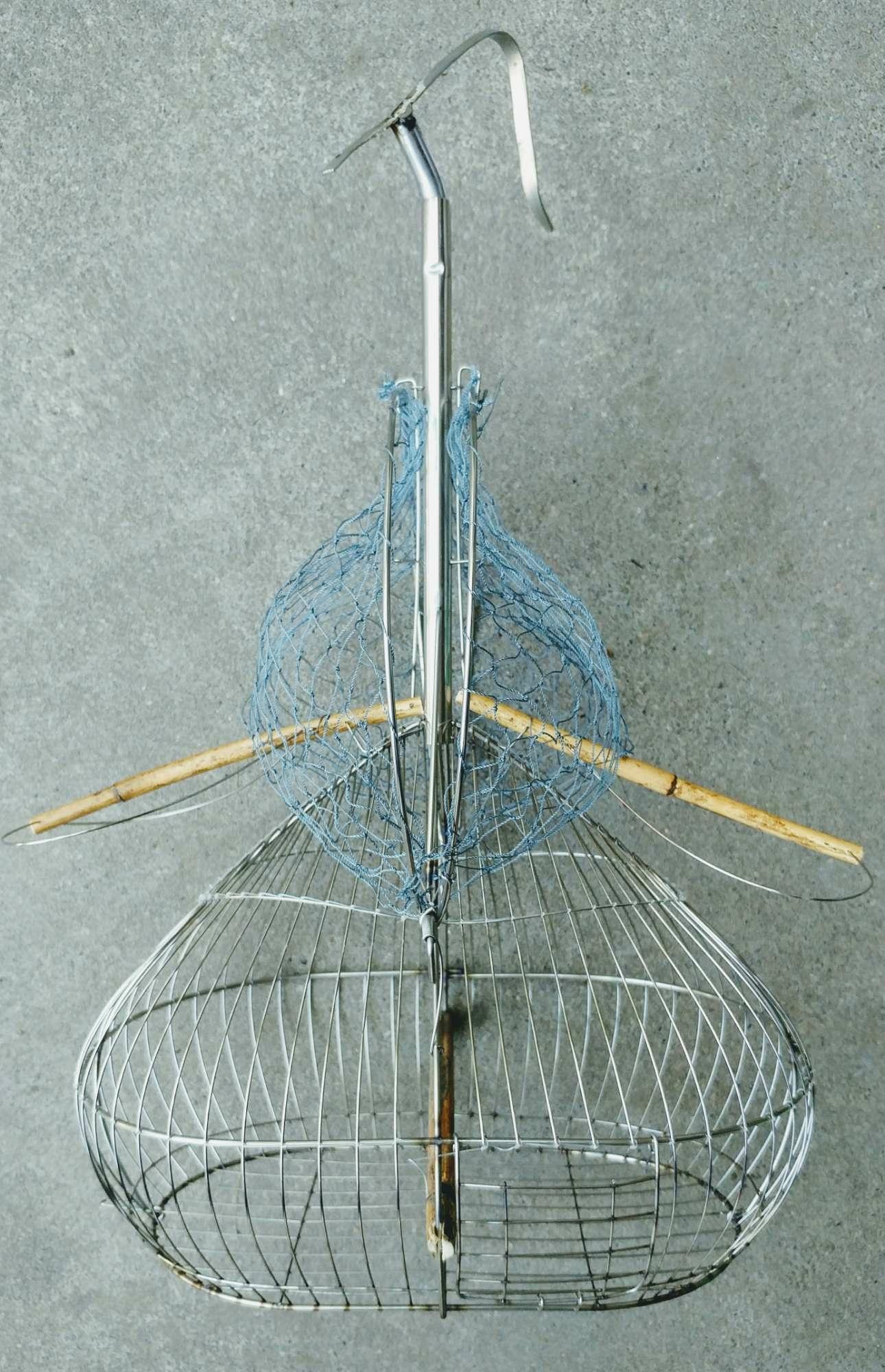 Lồng bẫy chim inox chuyên dụng bẫy khuyên, sâu và các loại chim nhỏ