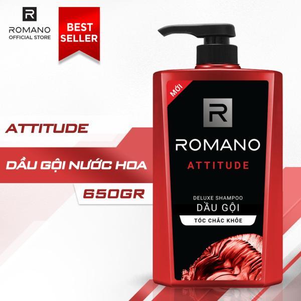 Dầu gội Romano Attitude 650g
