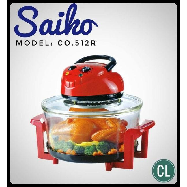 Lò nướng thủy tinh Halogen Saiko CO-512R
