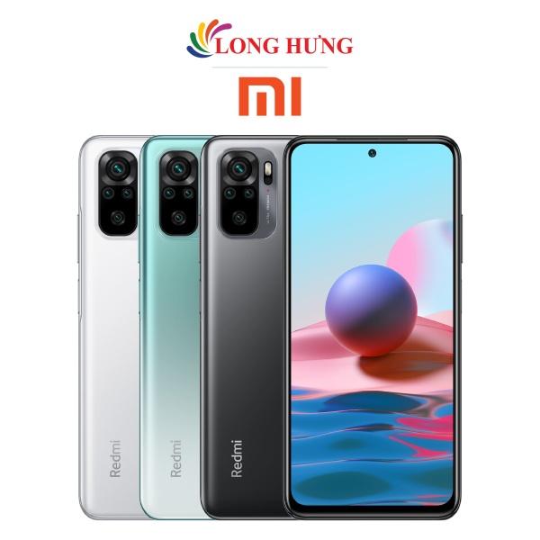 Điện thoại Xiaomi Redmi Note 10 (6GB/128GB) - Hàng chính hãng - Màn hình 6.43inch Super AMOLED FHD+, bộ 4 Camera sau, Pin 5000mAh