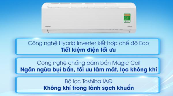 Bảng giá Máy lạnh Toshiba Inverter 1 HP RAS-H10L3KCVG-V