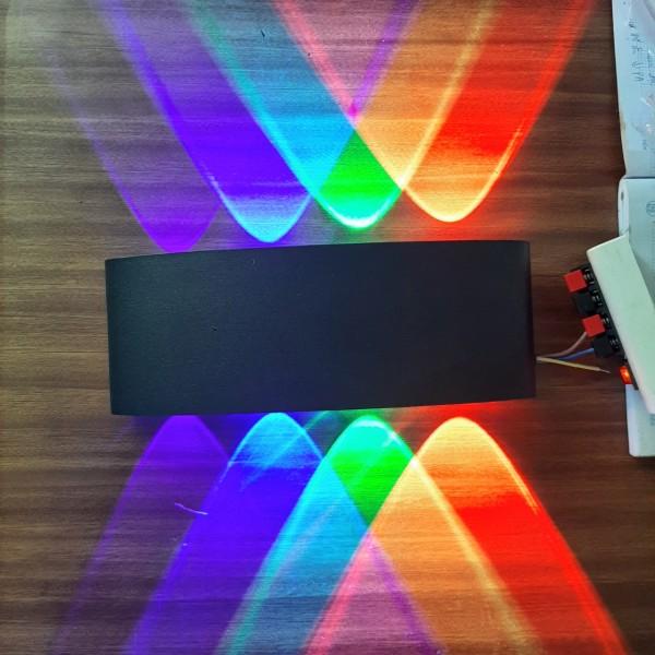 Bảng giá Đèn hắt tường trang trí cầu thang 8 tia nhiều màu đẹp