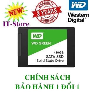 Ổ cứng SSD Western Digital - SSD WD Green 480GB 2.5 SATA 3 - Tem FPT Vĩnh Xuân thumbnail