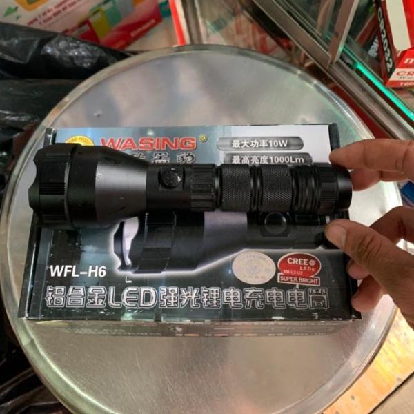 Bảng giá Đèn Pin Siêu Sáng Wasing H9 H6 H7 (Hàng Công Ty 100%)