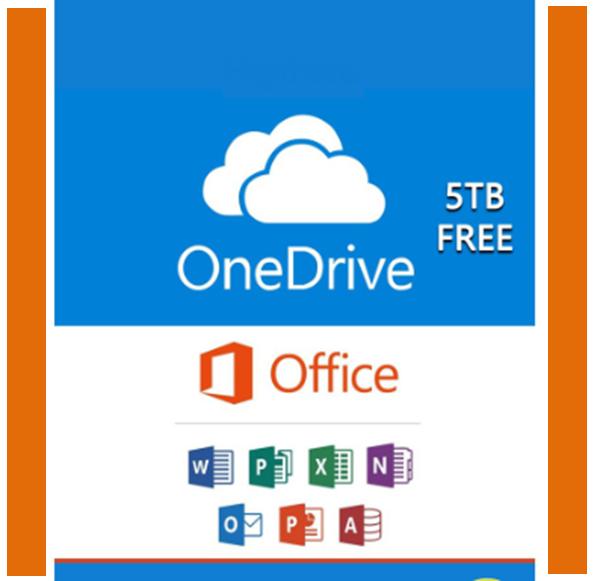 Giá Bộ Onedrive 5TB kèm Ofice Pro Plus Online