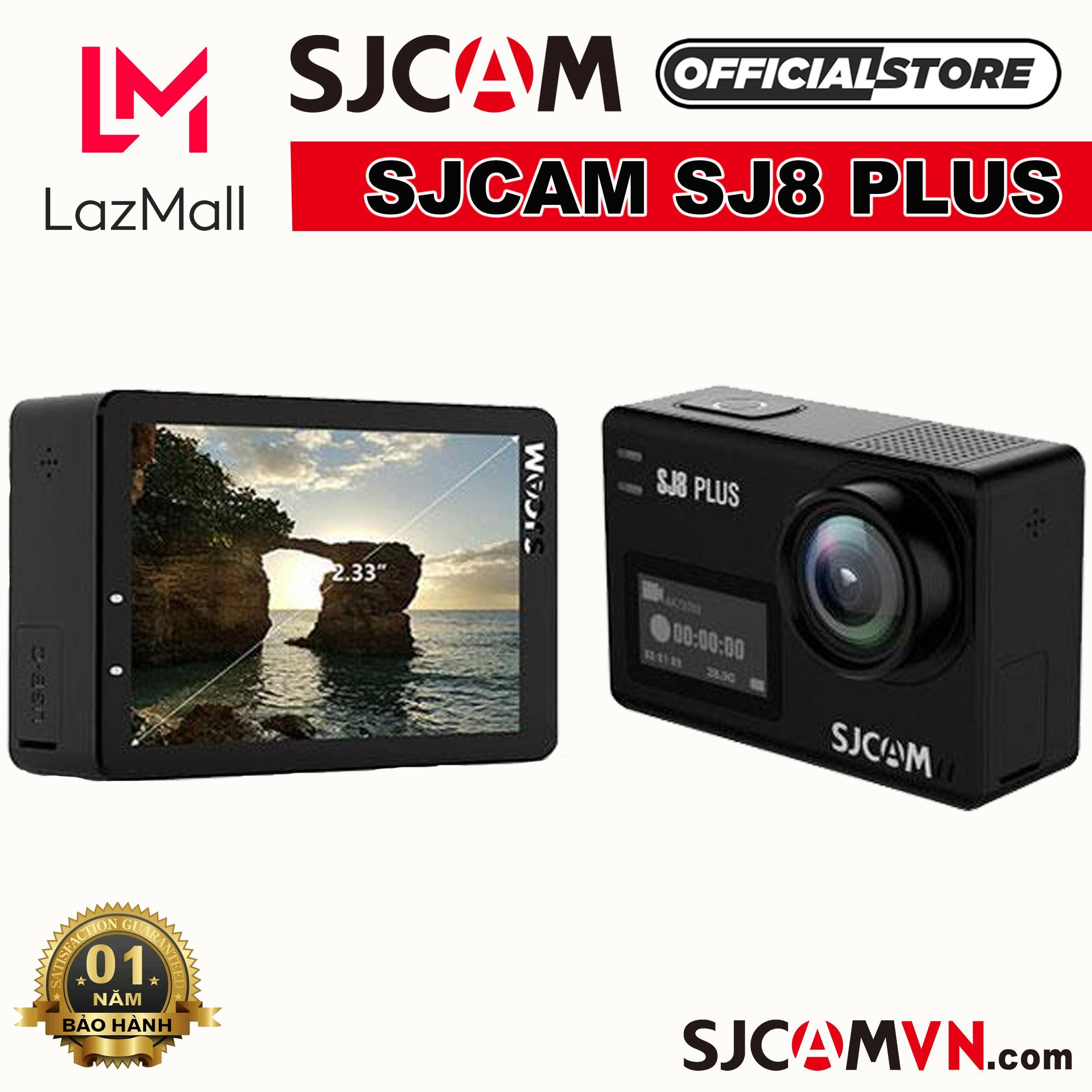 Camera Hành Trình SJCAM SJ8 PLUS 4K WiFi - Hãng Phân Phối Chính Thức Cùng Giá Khuyến Mãi Hot