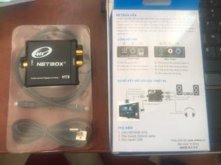 Optical HT - Bộ chuyển đổi âm thanh optical ra oudio - netbox HT8 thumbnail