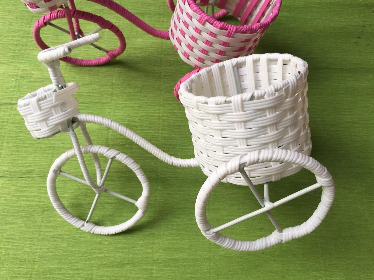 Giỏ hoa xe đạp – giỏ cắm hoa xe đạp