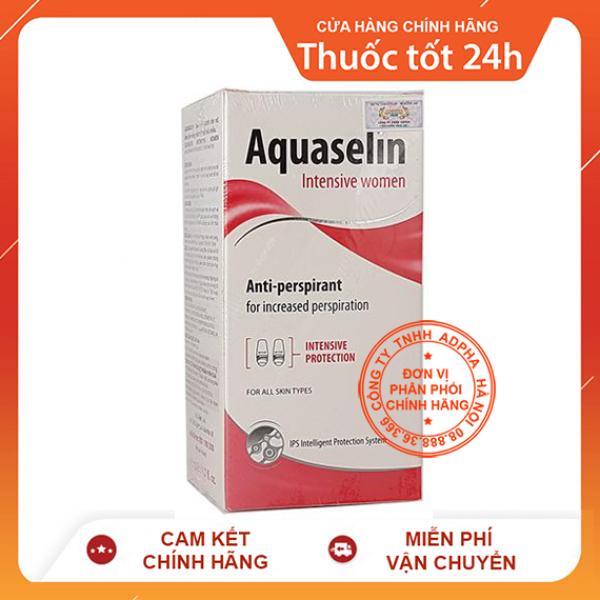 Aquaselin intensive women – Lăn nách dành cho nữ đổ mồ hôi nhiều