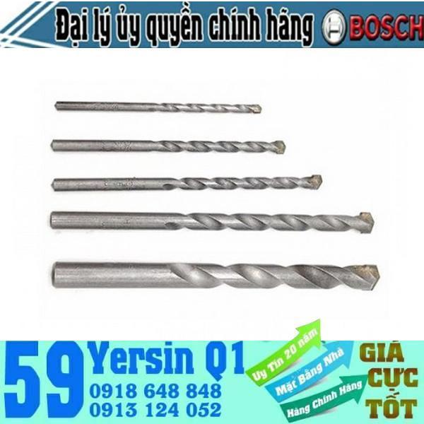 Bộ mũi khoan tường Bosch Concrete 4 - 5 - 6 - 8 - 10 2608578155