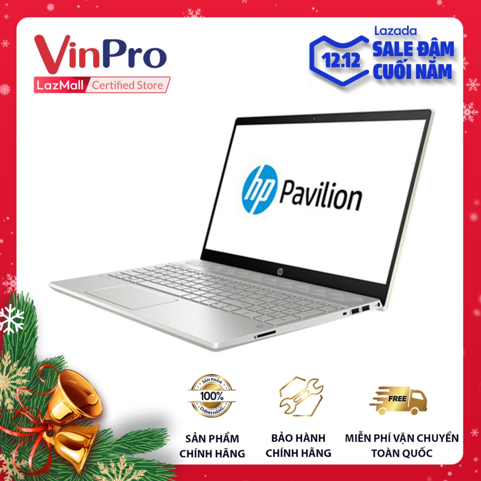 Laptop HP Pavilion 15-cs2055TX (6ZF22PA) - Hàng chính hãng - Core i5-8265U, RAM 4GB, màn hình 15.6 inch, MX130 2GB, Win 10