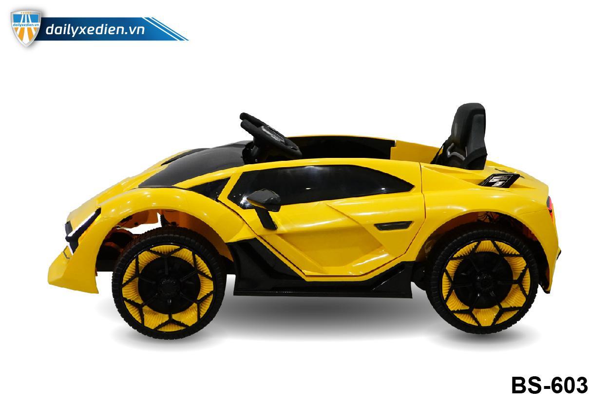 Xe ô tô điện BS-603 - Vàng