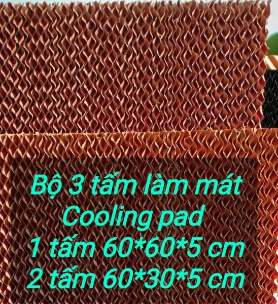 Bảng giá Bộ 3 tấm Cooling pad 60x60/30x5/5 Điện máy Pico