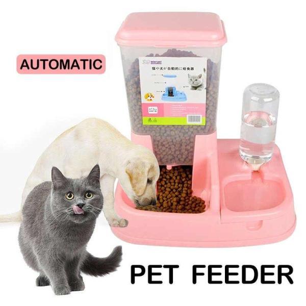 Máng ăn uống tự động cho chó mèo - Giao Ngẫu Nhiên,Size L