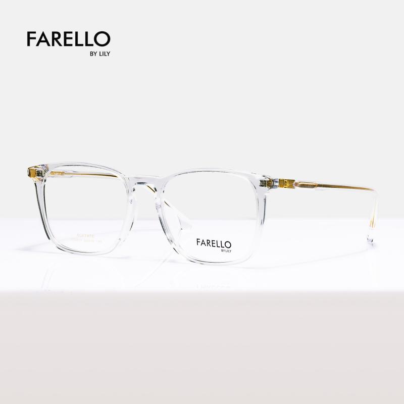 Giá bán Gong kính cận nam nữ mắt vuông FARELLO , thiết kế sang trọng , phù hợp nhiều khuôn mặt , nhiều màu sắc  GEMMA-5017
