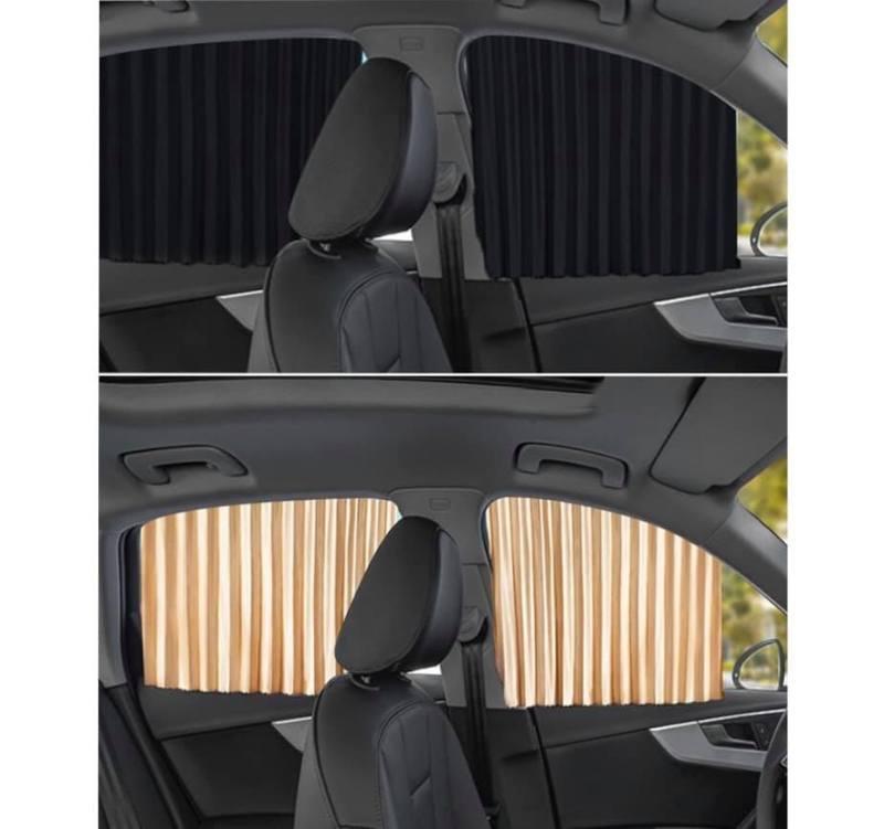 Rèm che nắng cửa kính xe ô tô 4-7 chỗ rèm vải cao cấp mẫu mới nhất 2020