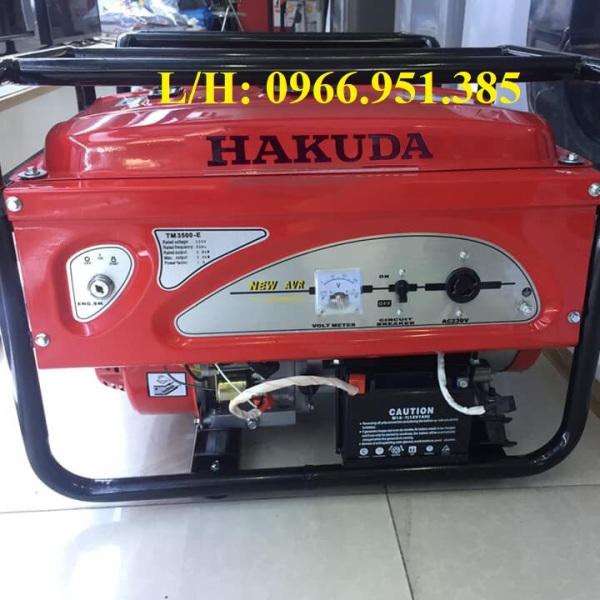Máy Phát Điện Chạy Xăng 5Kw Hakuda TM6500E Đề