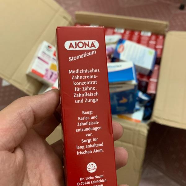 Kem đánh răng nha khoa ajona Đức