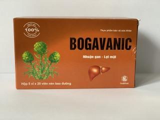 Bổ gan BOGAVANIN- nhuận gan, lợi mật- 1 Hộp 100 viên thumbnail
