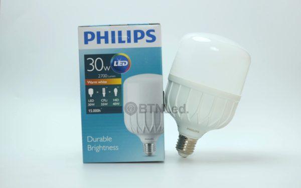 Bóng PHILIPS LED Bulb trụ 30W E27 - [HÀNG CHÍNH HÃNG] - Tiết kiệm điện, chất lượng ánh sáng cao