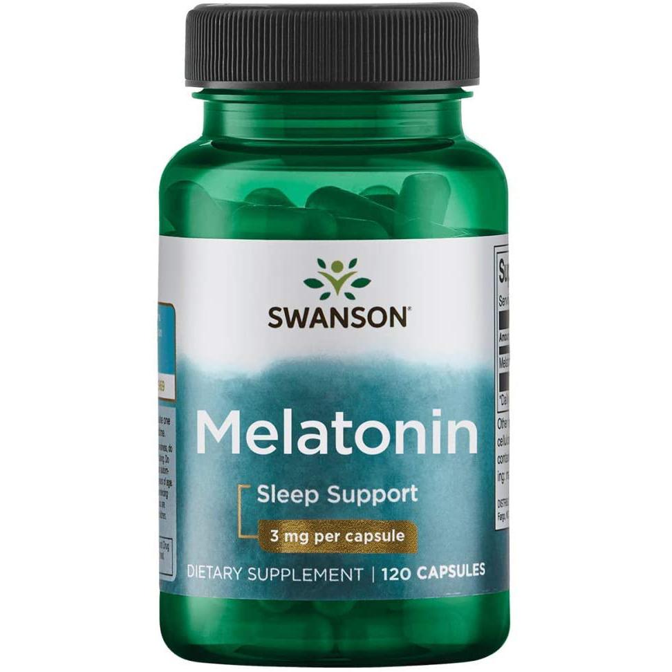 Viên uống Melatonin hỗ trợ giấc ngủ ngon 120 viên