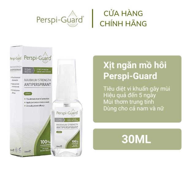 Xịt ngăn mồ hôi toàn thân hiệu quả tối đa Perspi-Guard Maximum Strength Antiperspirant Spray 30ml