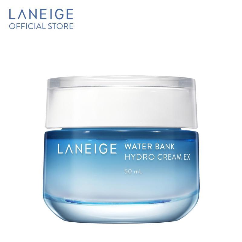 Kem dưỡng ẩm với thành phần nước khoáng xanh Water Bank Hydro Cream EX 50ml