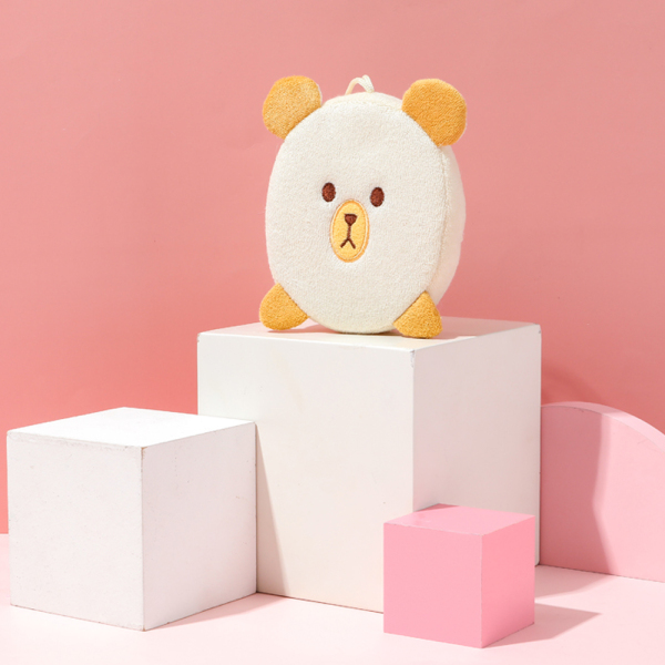 Bông tắm Miniso Bath Sponge Bear/Cat cao cấp