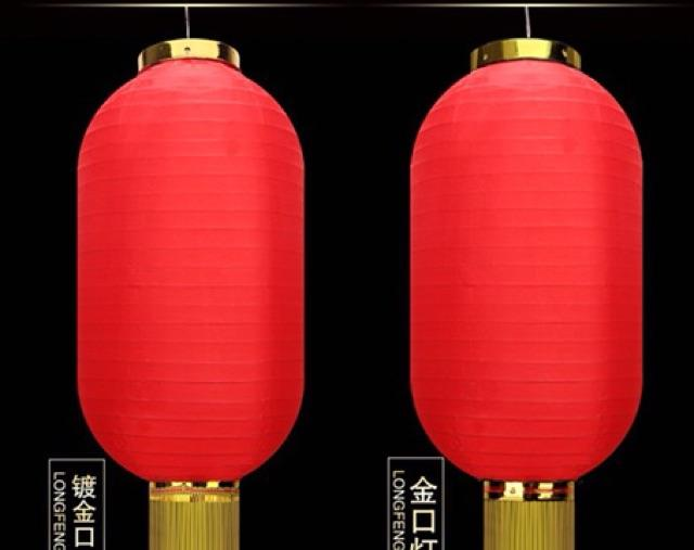 Mã Khuyến Mãi Combo 10 Đèn Lồng Dài Có Tua Trang Trí Ngoài Trời ( Size 25cm X 45 Cm)