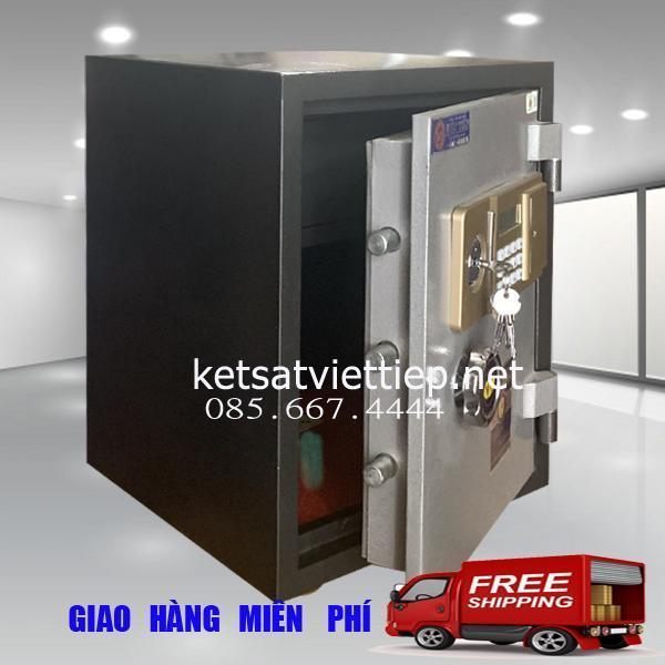 [CHINH HANG]Két sắt Việt Tiệp cánh đúc KVE65 khóa điện tử-55kg