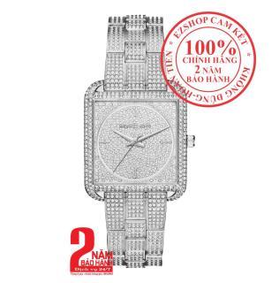 Đồng hồ nữ Michael Kors MK3662, Vỏ và Mặt đồng hồ màu Bạc (Silver), nạm đá pha lê Swarovski, size 33mm, Dây màu Bạc (Silver) thumbnail