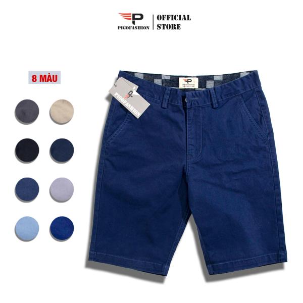Nơi bán Quần Short Nam Kaki Pigo Fashion Chuẩn Men Co Giãn Cfs Psk03 Cool 01 (Chọn Màu)