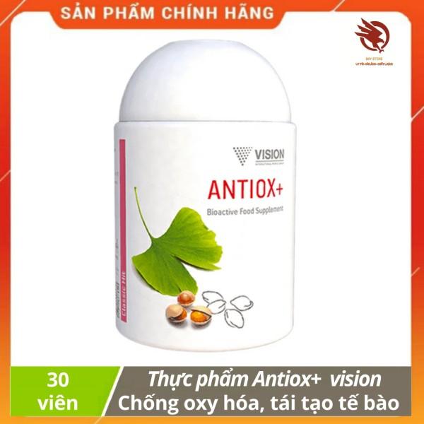 Thực phẩm Antiox+ Vision - Bảo vệ khỏi các gốc tự do, chống lão hóa tế bào - hộp 30v