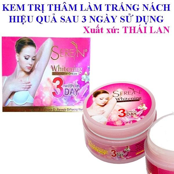 Kem Đặc Trị Thâm Nách 3DAY Seren Whitening Thái Lan