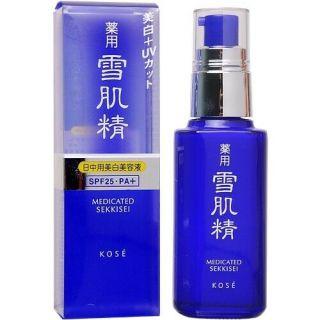 Tinh chất dưỡng ngày chống nám, trắng da Kose Mediated Sekkisei SPF25.PA+ 50ml - Nhật Bản thumbnail