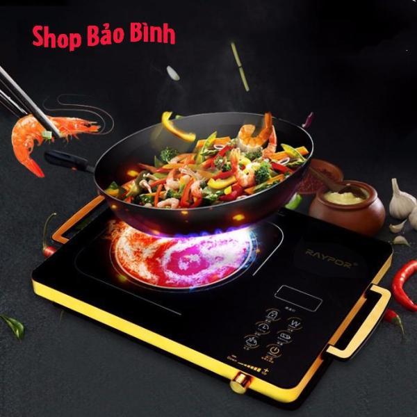 Bảng giá Bếp hồng ngoại - bếp điện hồng ngoại đơn cảm ứng RAYPOR 2200W  - Mặt kính chịu nhiệt chống trầy, không kén nồi Điện máy Pico